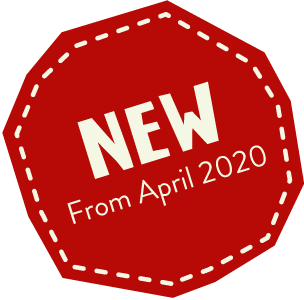 New from April 2020